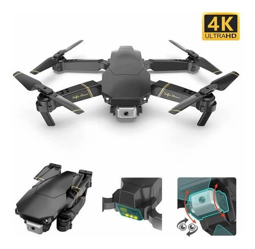 Drone Gd89 Pro Cámara 4k Eléctrica Gps Anti Obstáculo 2 Bat