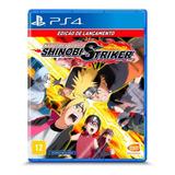 Naruto To Boruto: Shinobi Striker Standard Edition Bandai Namco Entertainment Ps4 Físico