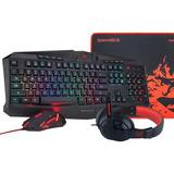 Kit Gamer Redragon S101 Teclado+audifono+mouse+padmouse
