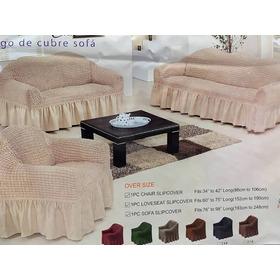 Forro Para Sofa De Tela  Elástico Cobertor Tienda Chacao