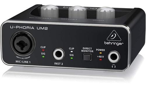 U-phoria Um2 Interfaz De Audio Usb - Behringer