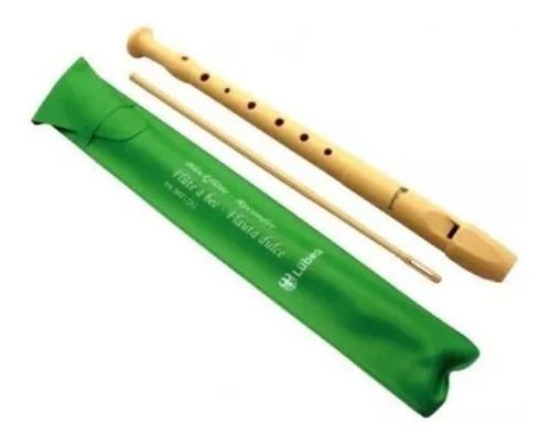 Flauta Soprano Con Digitacion Alemana Lubeck / Abregoaudio