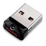 Pendrive Sandisk Cruzer Fit 32gb 2.0 Preto