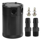 Racing Universal 2-port Oil Catch Can Universal Aluminio Tod