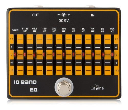 Pedal Ecualizador Caline 10 Band Eq Guitarra Bajo U Otros