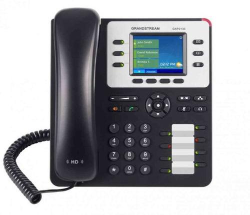 Telefono Grandstream Gxp-2130 Ip Poe 2pt 3 Lineas Lcd 2.8 Ic