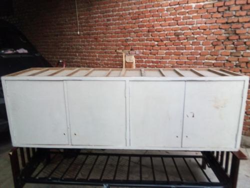 Mueble De Alzada / Aéreo 4 Puertas