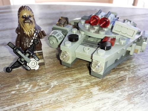 Lego Original Star Wars Microfighter Halcon Milenario. 75193