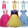 Fantasia Luxo Princesas Disney Completa Pronta Entrega Original