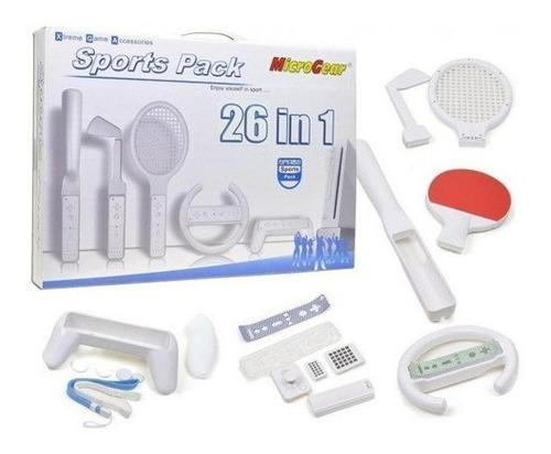 Pack 26 En 1 Sports Para Wii