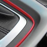 Moldura Universal Fucsia  Accesorios Autos, Colores 4 Mts