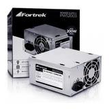 Fonte De Alimentação Para Pc Fortrek Pws-2003 200w Prata 115v/230v