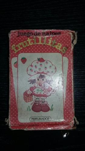 Mazo Cartas Cromy Frutilla Completo 1984 Con Caja