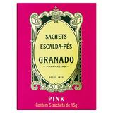 Escalda-pés Granado Pink Caixa 75g 5 Unidades