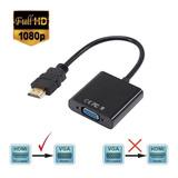 Cable Convertidor Adaptador Hdmi A Vga Pc Laptop Tv Monitor
