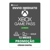 Game Pass Ultimate 12 Meses - Xbox One - Renovação