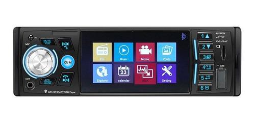 Stereo Para Auto Con Pantalla Fhd Bluetooth Manos Libres Usb
