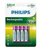 Pilas Aaa Pack De 12 Recargables Philips 950mah Pcreg
