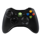 Controle Joystick Sem Fio Microsoft Xbox Mando Inalámbrico Xbox 360 Black