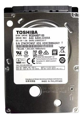 Disco Duro Interno Toshiba Mq04abf Series Mq04abf100 1tb