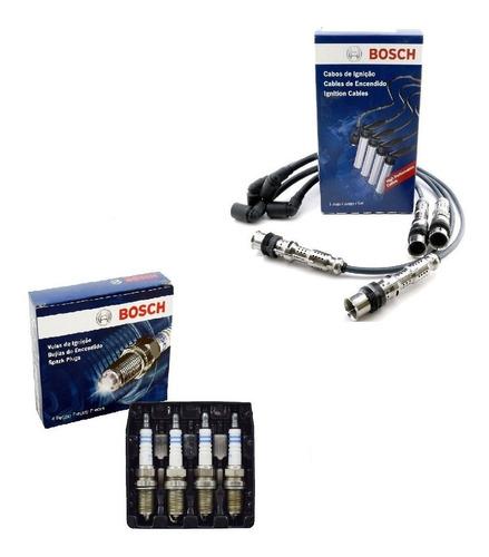 Cables Y Bujías 1 Elect. P/ Vw Fox Suran Trend Voyage Bosch
