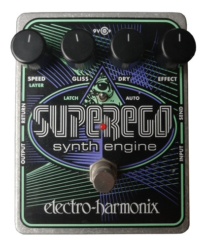 Electro Harmonix Superego Synth Engine Pedal Guitarra Freeze