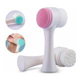 Exfoliante Masajeador Facial Limpieza Cutis Spa 2 En 1 Ofert