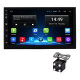 Radio Multimedia Android Con Wifi Gps Bt + Camara Reversa