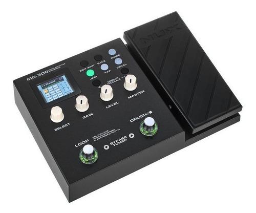 Pedalera Nux Mg-300 De Efectos Para Guitarra Electrica