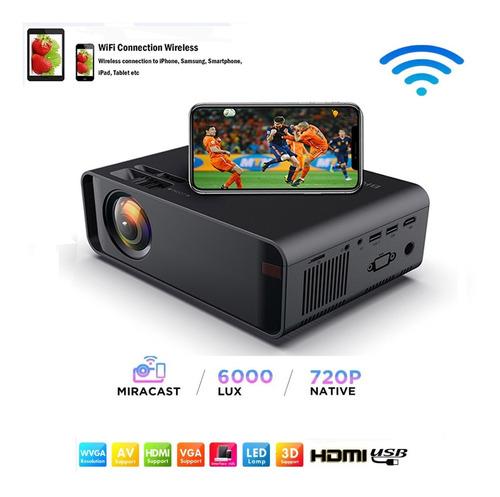 Miniproyector Wifi Portátil Full Hd De 1080p