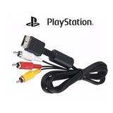 Cabo Av Audio E Video Rca Playstation Ps3 Ps2 Ps1 + Barato