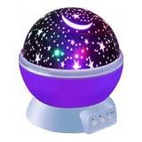 Lampara Led Usb Luces Estrellas Proyector Dormitorio