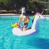 Flotador, Salvavidas Mega Unicornio Gigante