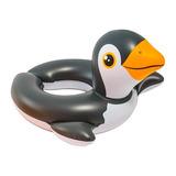 Salvadidas Pinguino Flotador Infantil Intex 59 X 57 Cms