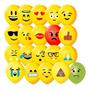 Balão (bexiga) Emoções C/50 São Roque - Emoji Pr Original