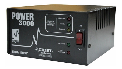 Regulador Electrónico De Voltaje Magom Power 3000