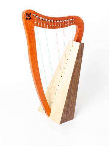 Arpa Walter 15 Cuerdas Nylon Madera Maple Caoba Cuota