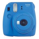 Cámara Análoga Instantánea Fujifilm Instax Mini 9 Cobalt Blue