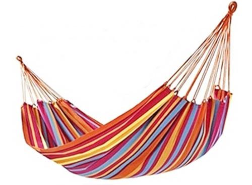 Hamaca 100 % Algodon Premium 2 Plazas Para Verano