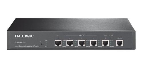 Router Tp-link Tl-r480t+ Negro 220v