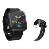 Relogio Smartwatch Ios Android C/ Medidor Pressão 32mb Tedge