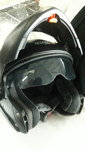 Impecable Casco Beon Negro Mate T/xl