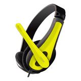 Auriculares Noga Ngv-400 Amarillo