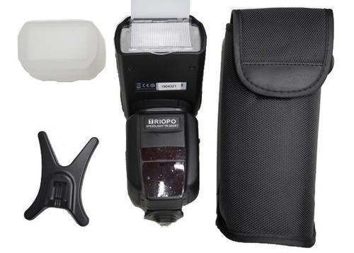 Flash Triopo Tr600rt Canon Y Nikon Con Receptor Y Transmisor