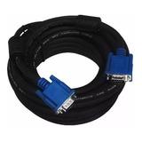 Cable Vga 5 Metros Con Doble Filtro + Calidad