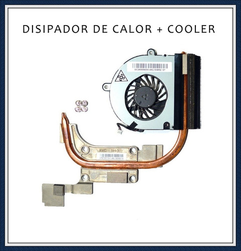Disipador De Calor + Cooler Notebook Acer Aspire 5252