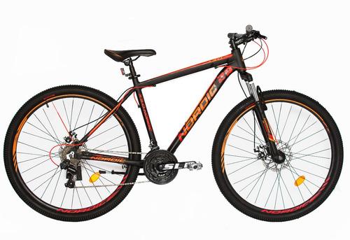 Bicicleta Nordic X 3.0 By Slp 21v R29 Alum. Freno Disco +led