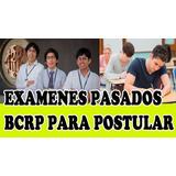 Bcrp Examenes Para Curso Extension Universitaria Resueltos