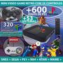 Playstation Retro + 600 Jogos Ps1 + 53 Sistemas + Atari ++++ Original