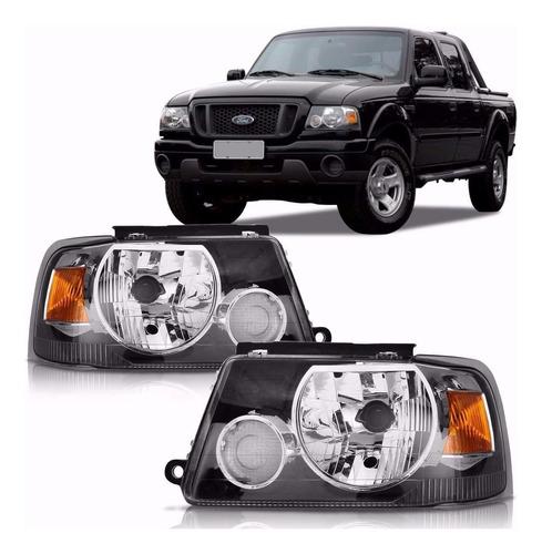 Juego Optica P/ Ford Ranger 2004 2005 2006 2007 2008 2009